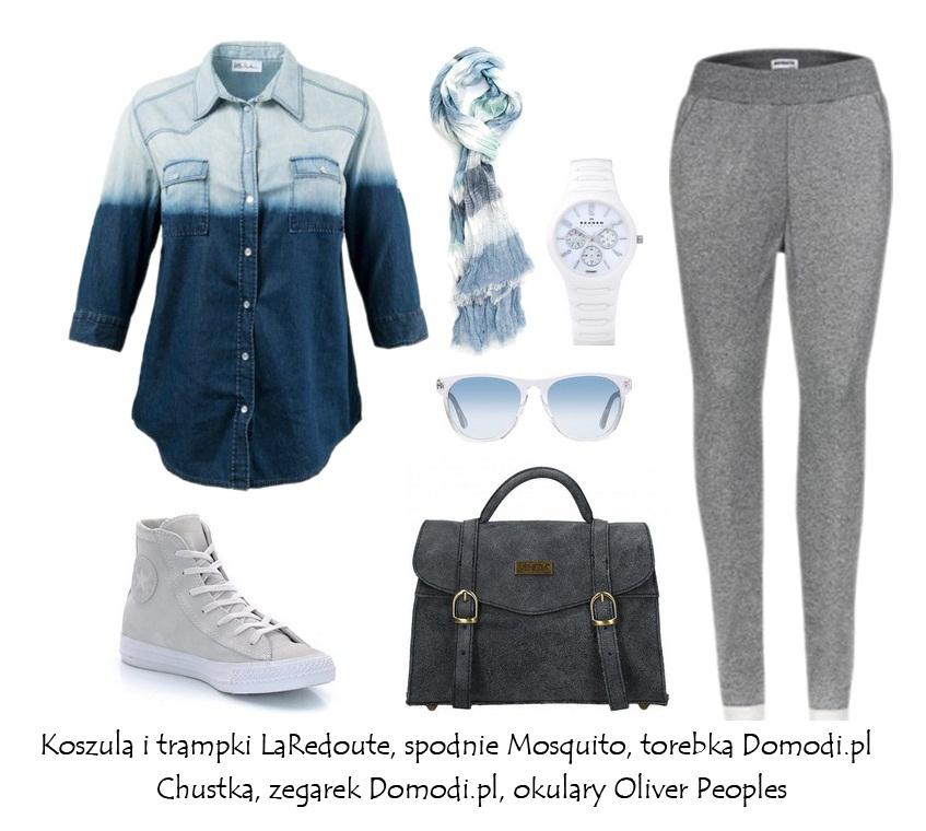 Stylizacje  Wiosna inspiruje! Jeans!