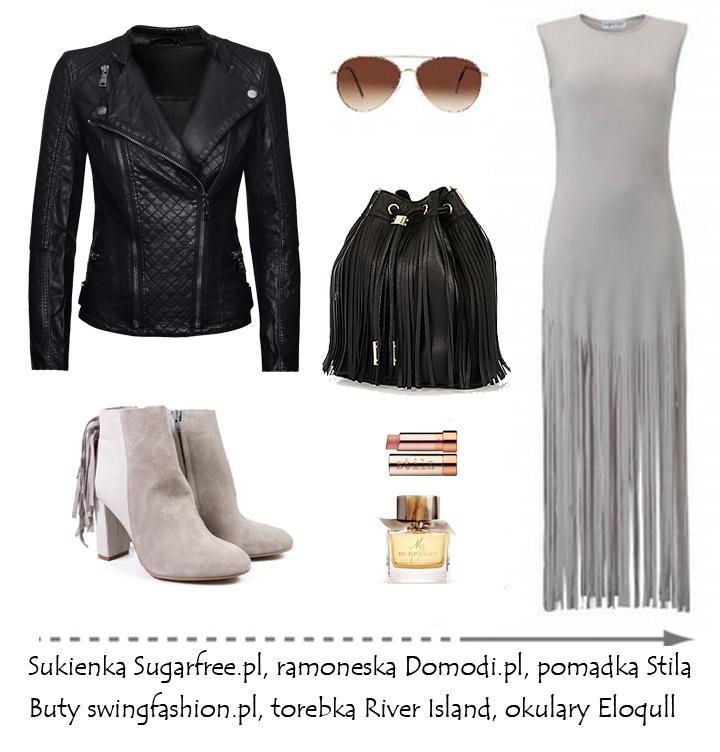 Moda Damska  Frędzle - must have sezonu!