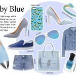 Akcesoria Buty  Trend na teraz: baby blue