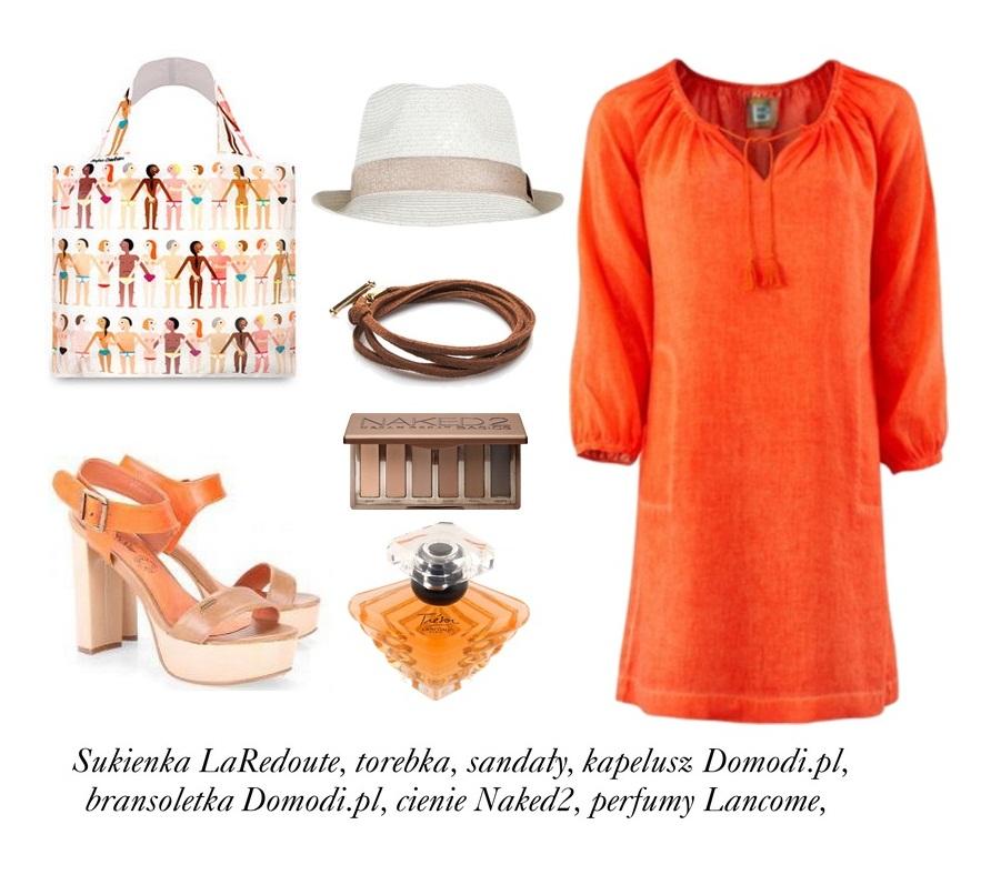 Stylizacje  Kolory wiosny - pomarańcz!
