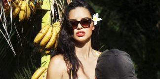 Adriana Lima jest jedną z twarzy nowej kampanii reklamowej Vogue Eyewear