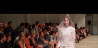 Pokaz mody 2013 studentów 2 roku Fashion Design