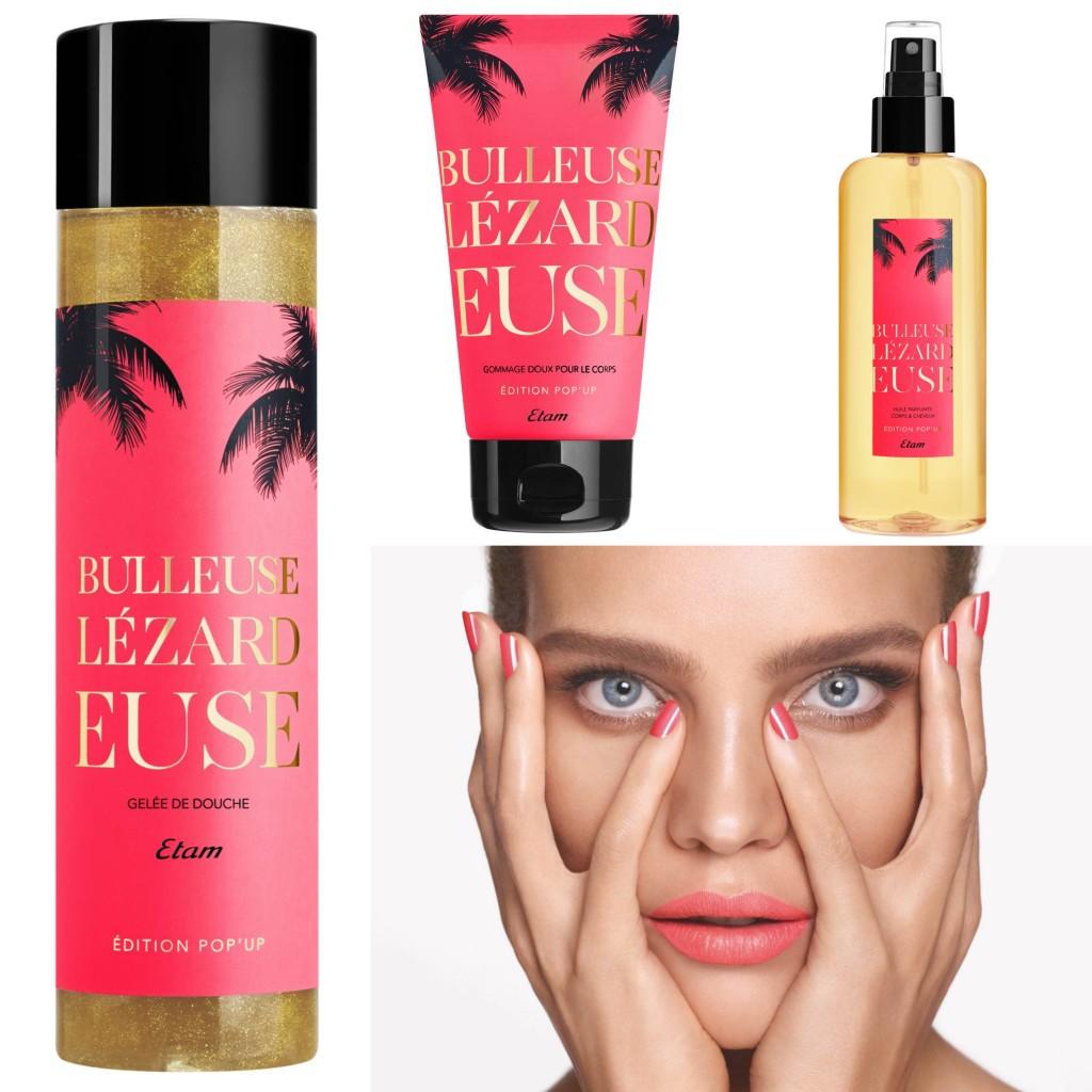 Kosmetyki Make-up  Nowa seria kosmetyków Etam Lézardeuse