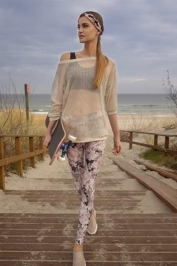 Moda Damska  Letni spacer po promenadzie