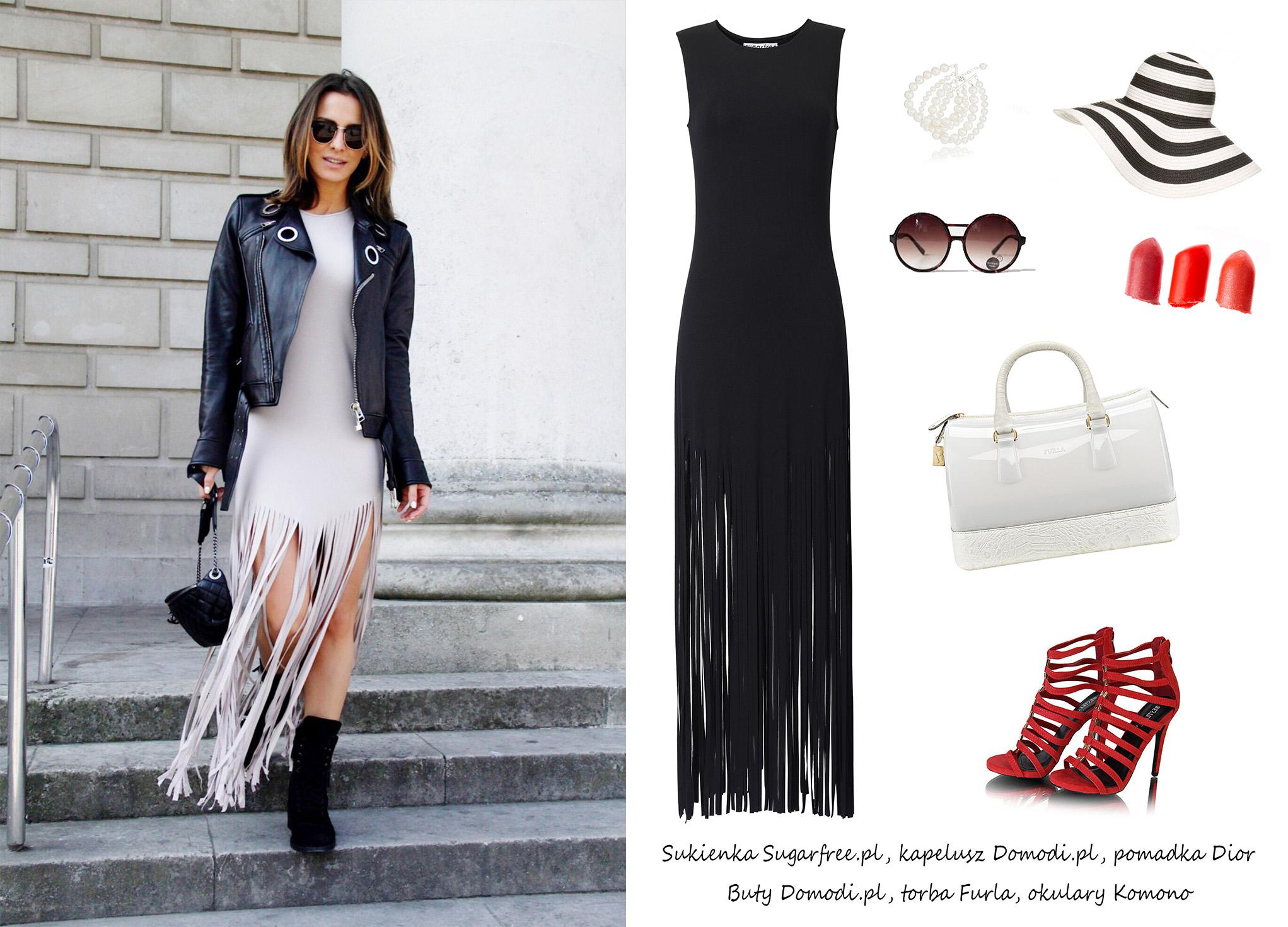 Moda Damska Stylizacje  Maxi sukienki na lato z instagrama!