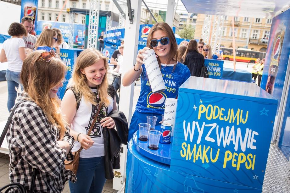 Wydarzenia  Relacja z wielkiego otwarcia Wyzwania Smaku Pepsi w Warszawie