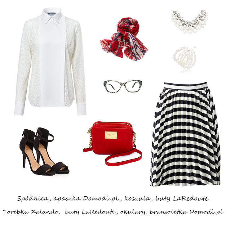 Moda Damska Stylizacje  Francuski szyk - inspiracje