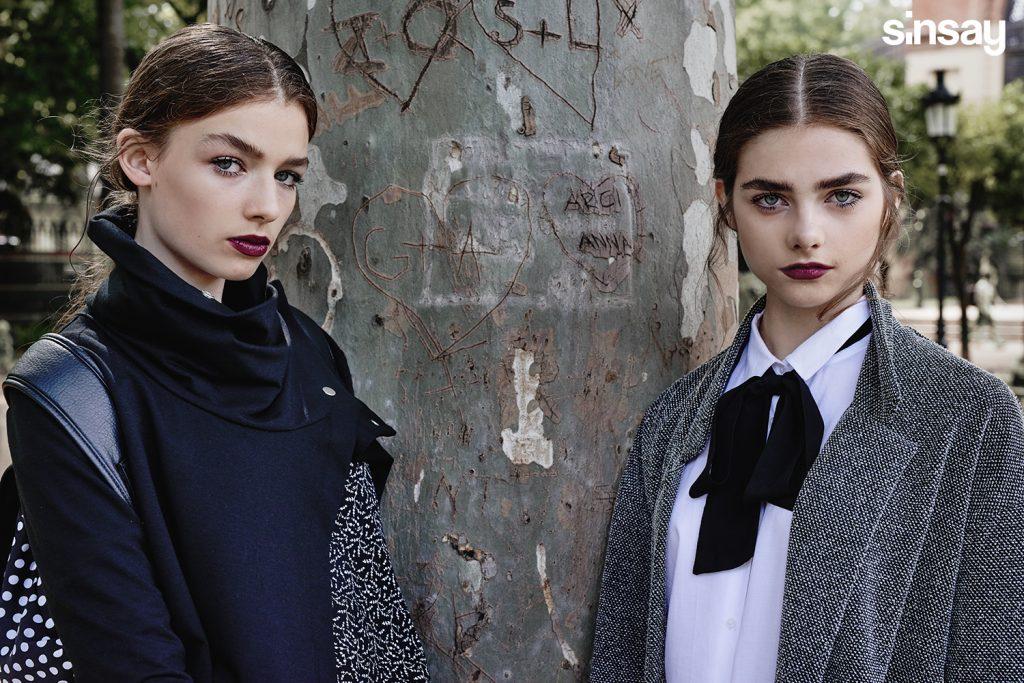 Moda Damska  SiNSAY  jesień  / zima 2015