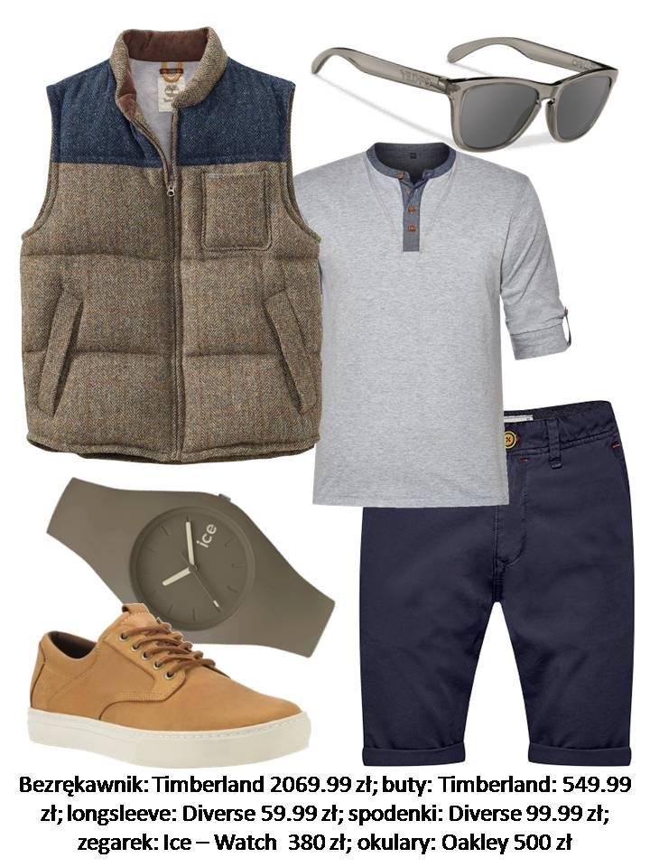 Moda Męska Stylizacje  Męski facet w militarnym stylu