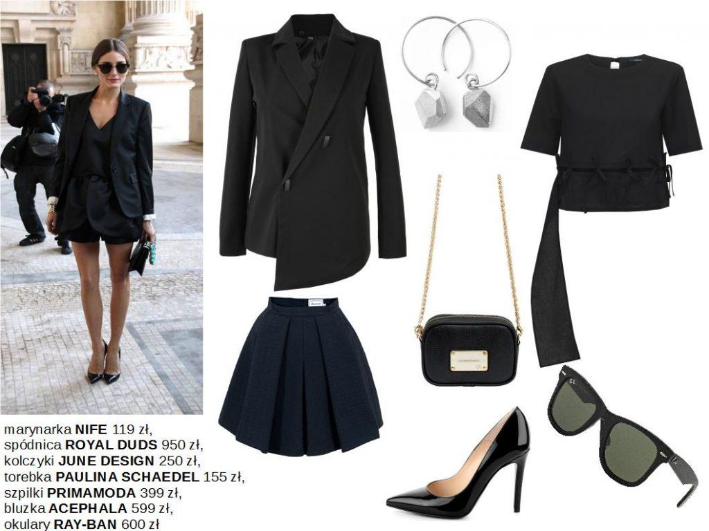 Moda Damska Stylizacje  Przegląd stylizacji na czarno