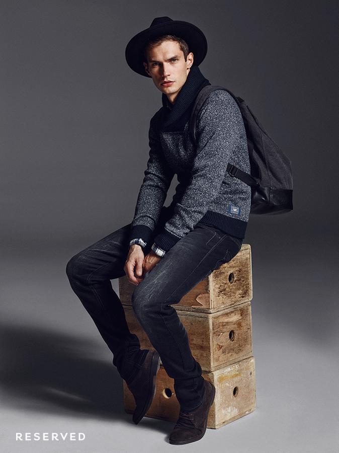Moda Damska Moda Męska  Zimowy Lookbook Reserved