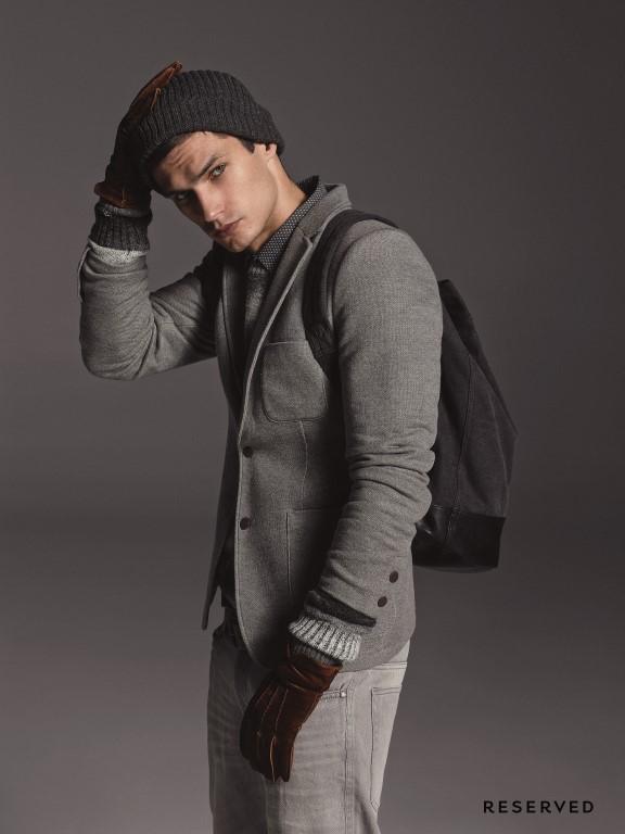Moda Męska  Zimowa kolekcja męska Reserved