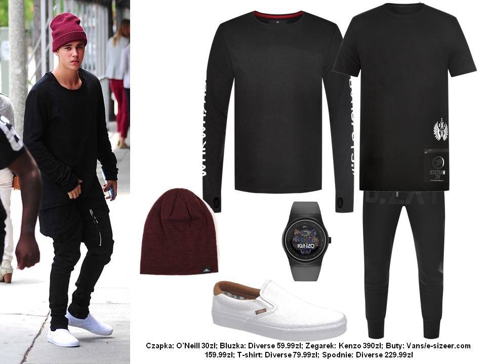 Moda Męska  Justin Bieber – najlepiej ubrany artysta