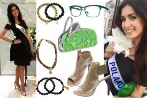 Moda Damska News  Dodatki, z którymi Ewa Mielnicka zachwyca na japońskiej ziemi