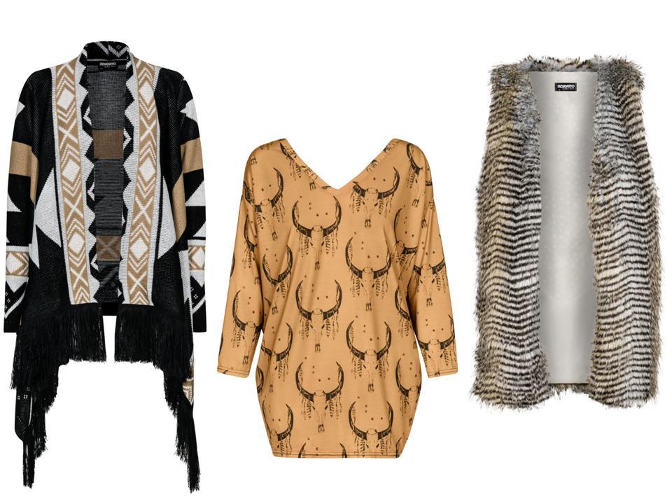 Moda Damska  Jesienno-zimowy patchwork
