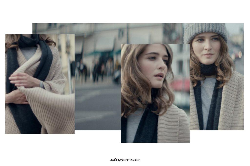 Moda Damska Moda Męska  Przełamując konwencję – zimowa kampania DIVERSE
