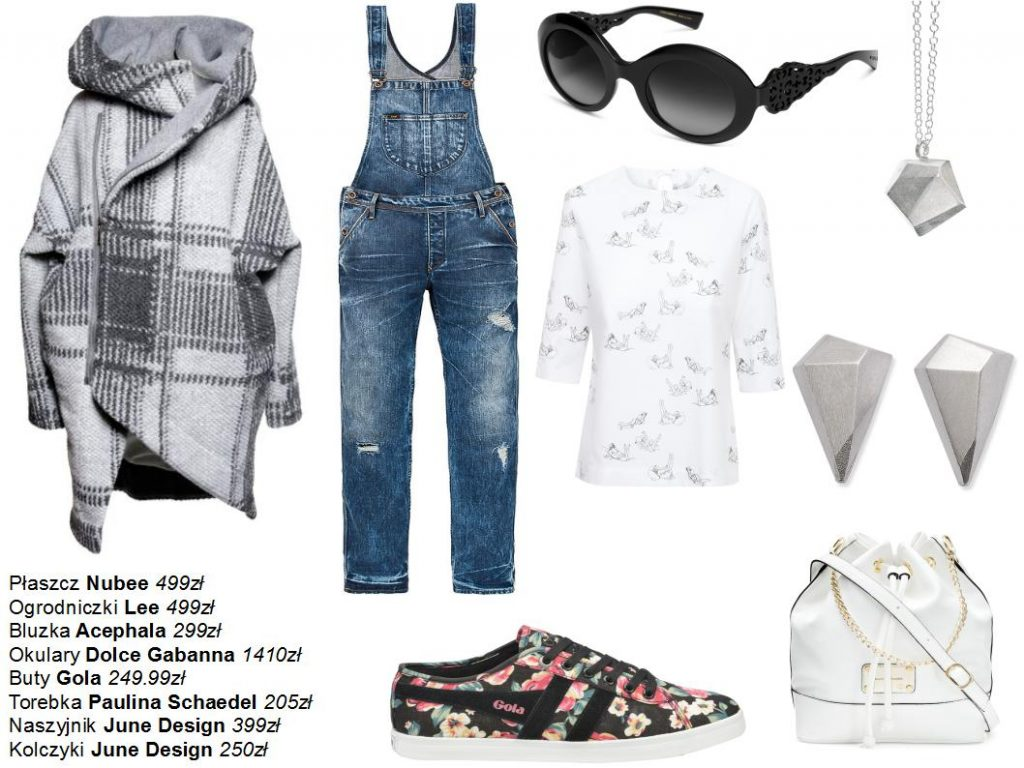 Moda Damska Stylizacje  Kolaże 90's