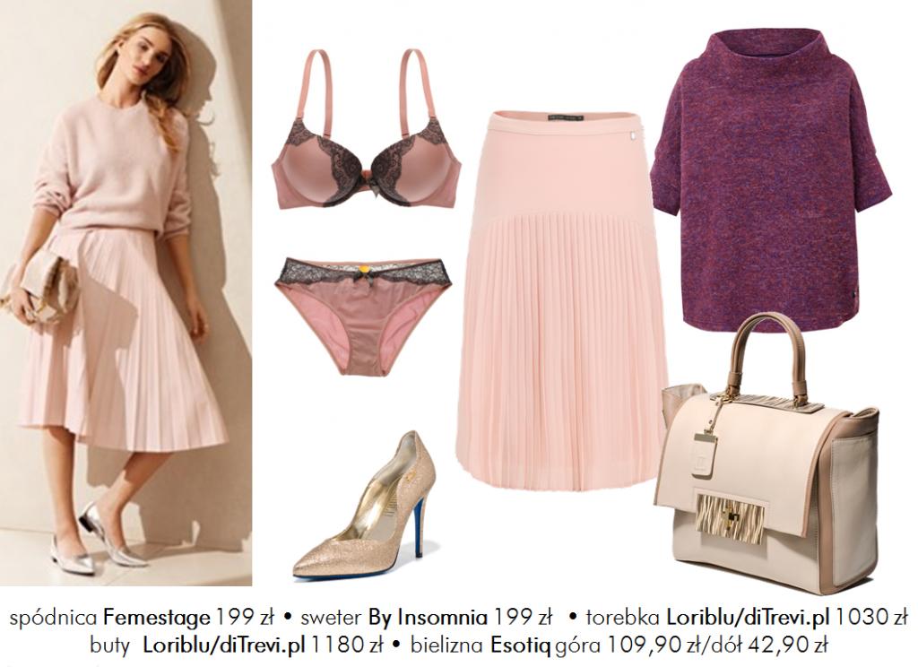 Moda Damska Stylizacje  Color Total Look