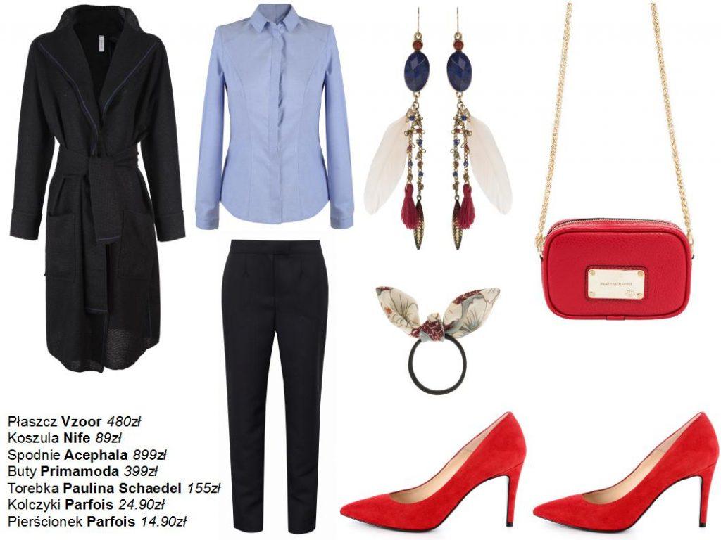Moda Damska Stylizacje  Propozycje do pracy na każdy dzień tygodnia