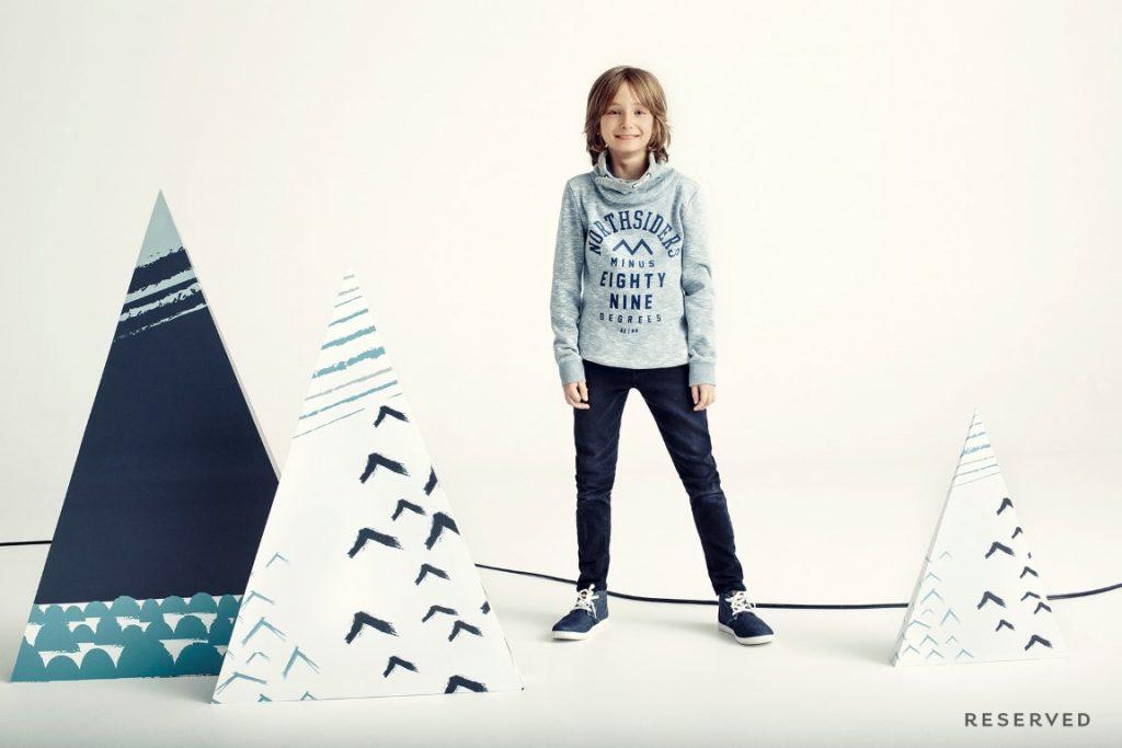 Moda dziecięca  Zimowa magia Skandynawii w kolekcjach Reserved Kids Winter 2015