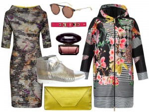 Moda Damska Stylizacje  Subtelny Pop-art