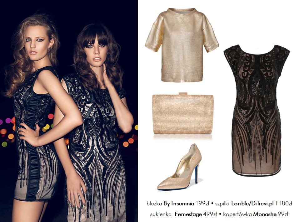 Moda Damska Stylizacje  5 sylwestrowych stylizacji