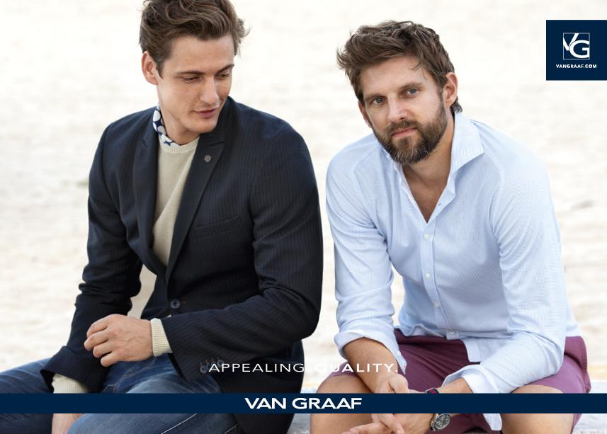 Moda Damska Moda Męska TRENDY WIOSNA-LATO 2016  VAN GRAAF - nowa kolekcja - wiosna-lato 2016