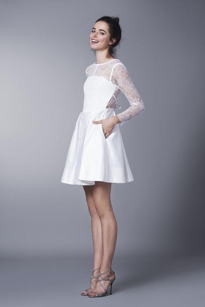 Moda Damska  Na przekór tradycji – czyli krótkie suknie ślubne