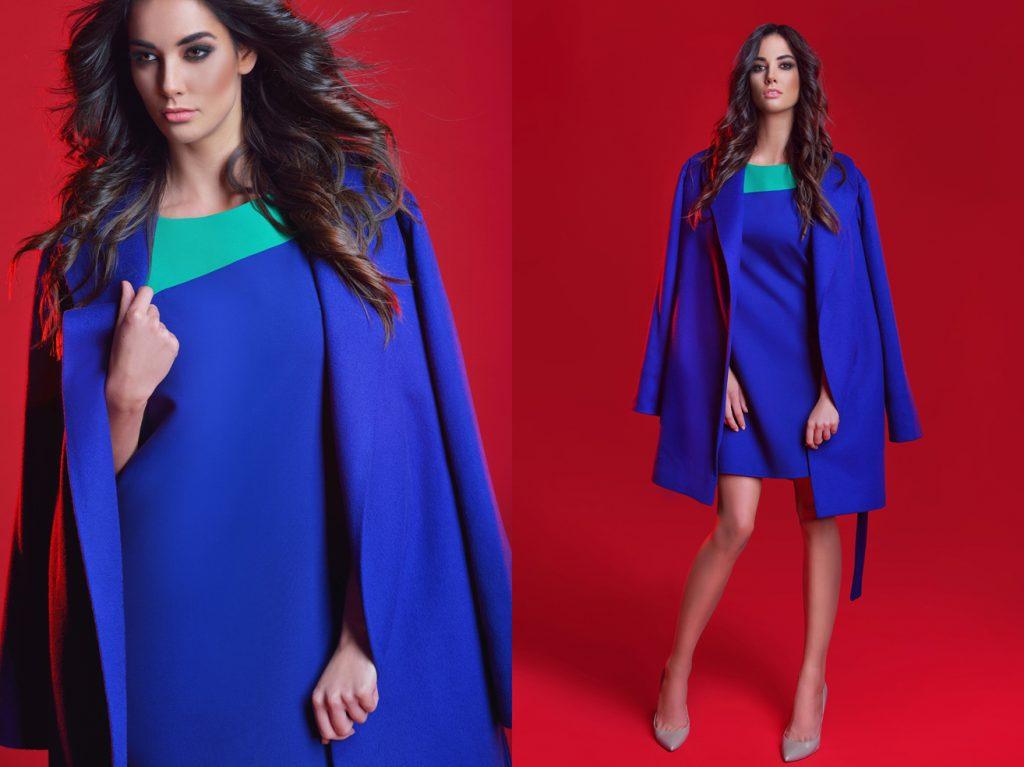 Moda Damska  Kolekcja LIQUID COLORS RINA COSSACK