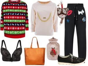 Moda Damska Stylizacje  Święta w domu