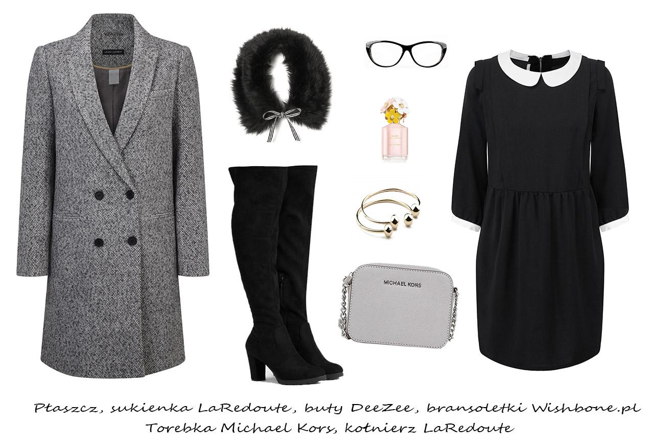 Moda Damska Stylizacje  W męskim stylu - stylizacje z płaszczem!