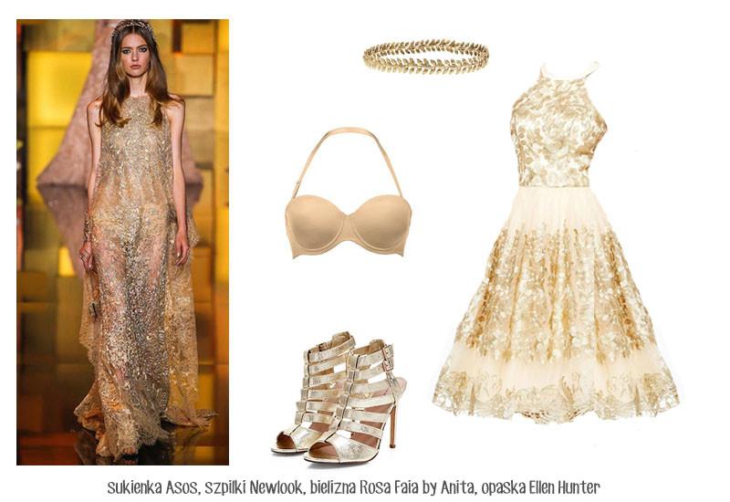 Moda Damska Stylizacje  Hot trendy sylwestrowe