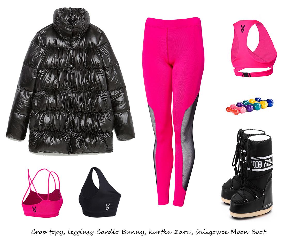Moda Damska Stylizacje  Sportowy look na zimę!