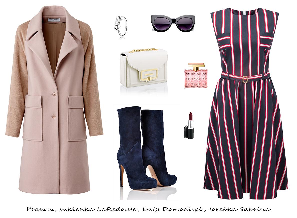 Moda Damska Stylizacje  Zimowe stylizacje do pracy