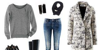 Zimowe stylizacje ze swetrami!