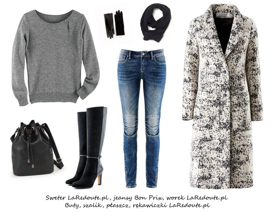 Moda Damska Stylizacje  Zimowe stylizacje ze swetrami!