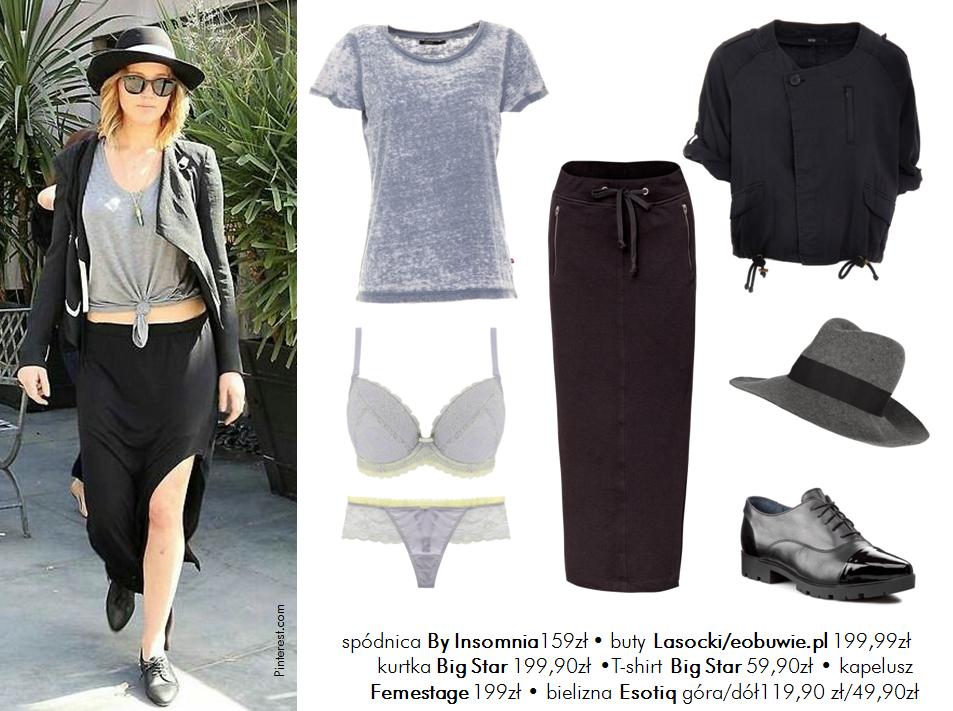 Jej styl Stylizacje  Jej styl - Jennifer Lawrence