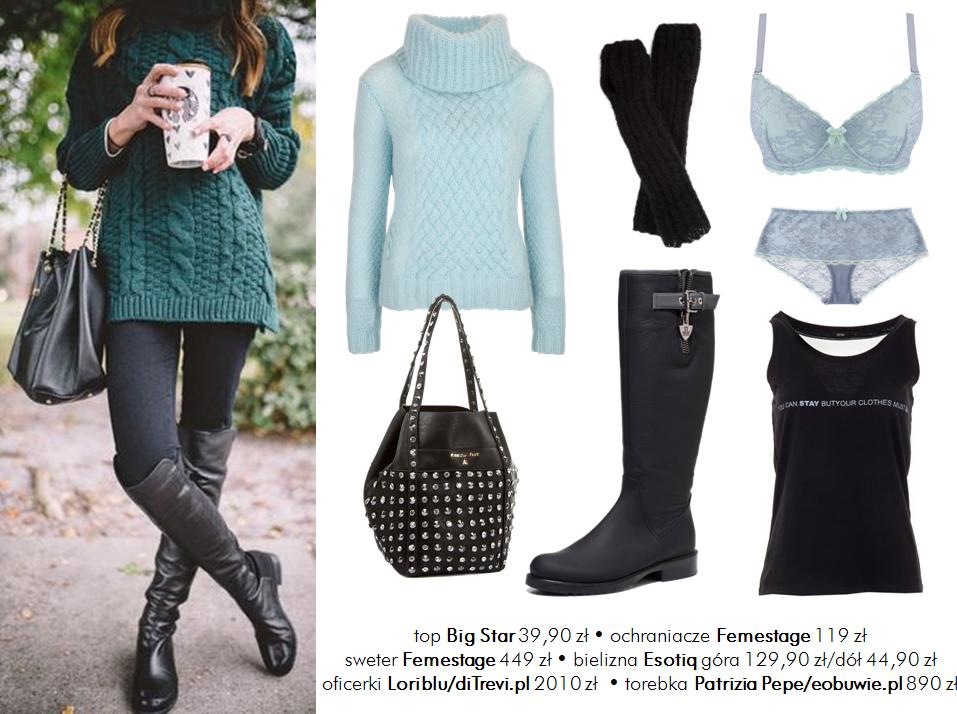 Moda Damska Stylizacje  Najcieplejsze ubrania na mróz i śnieg