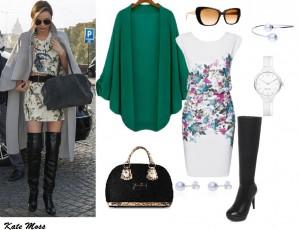 Moda Damska Stylizacje  Kozaki na ratunek w mrozy