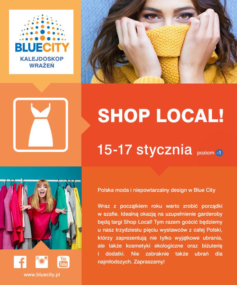 Wydarzenia  Shop Local modnie,lokalnie,świadomie