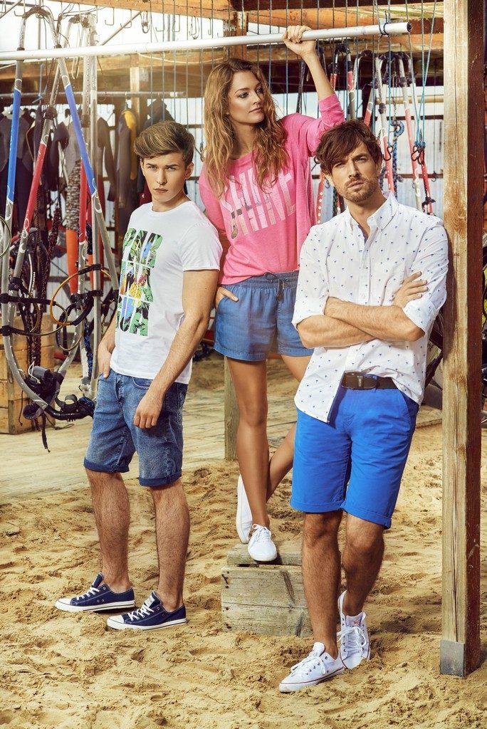 Moda Damska Moda Męska TRENDY WIOSNA-LATO 2016  Kolekcja  BIG STAR wiosna-lato 2016