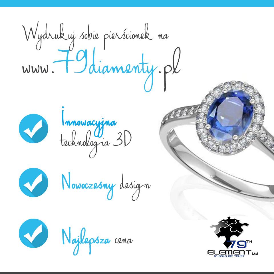 Biżuteria  Wydrukuj sobie pierścionek