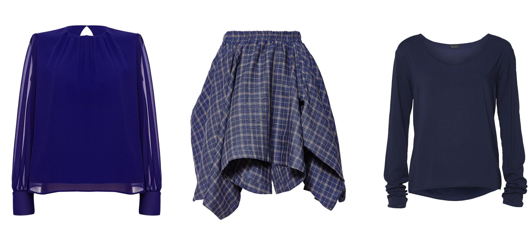 Moda Damska  W odcienach nieba – ubrania i dodatki od PolscyProjektanci.com