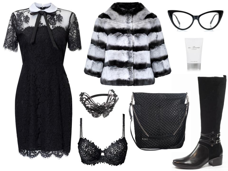 Moda Damska Stylizacje  Karnawałowe szaleństwo
