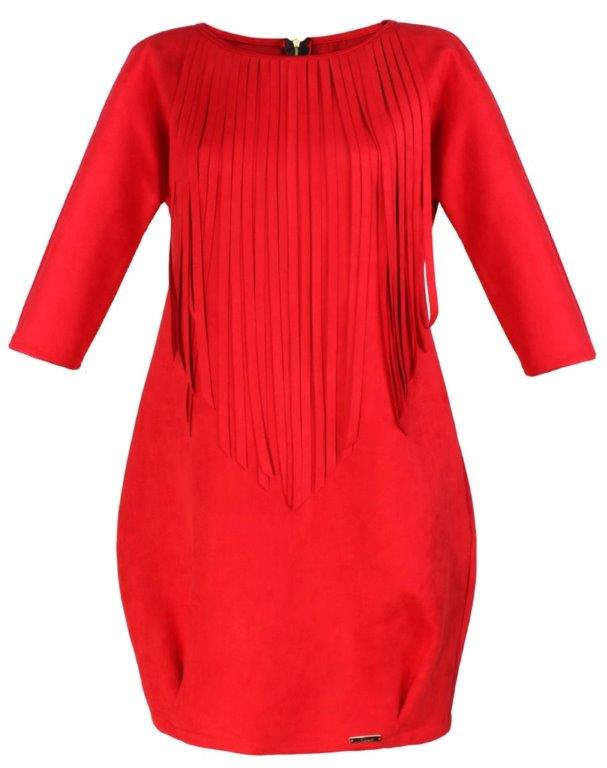 Moda Damska  Czerwone sukienki nie tylko na Walentynki