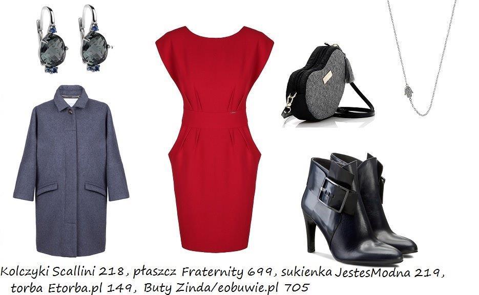Moda Damska Stylizacje  Jak nosić czerwień