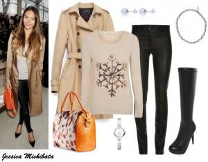 Moda Damska Stylizacje  Zima w stylu gwiazd