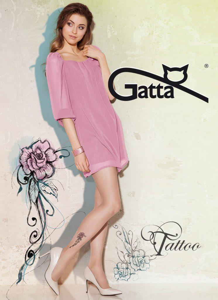 Bielizna Damska  Wiosenno-letnia kolekcja rajstop Gatta – subtelnie ozdobione nogi