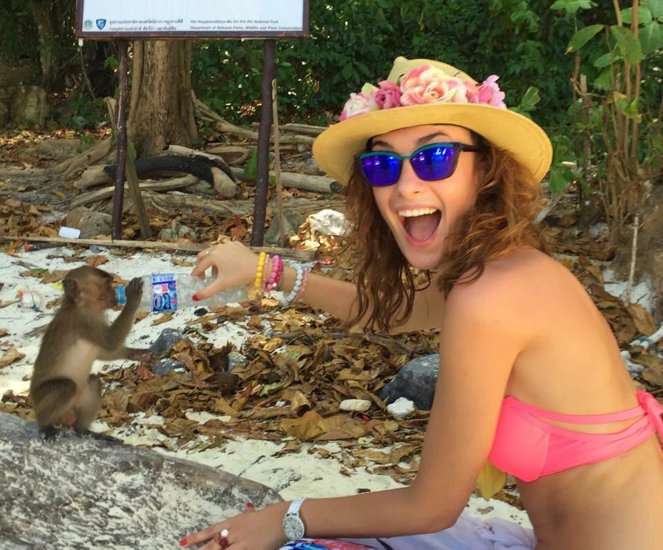 News  Ewa Mielnicka na wakacjach w Tajlandii!