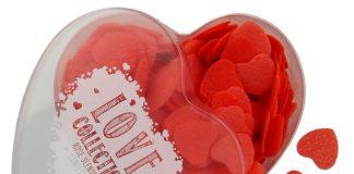 Konfetti do kąpieli w kształcie serduszek  zapachu różanym_12,99zł